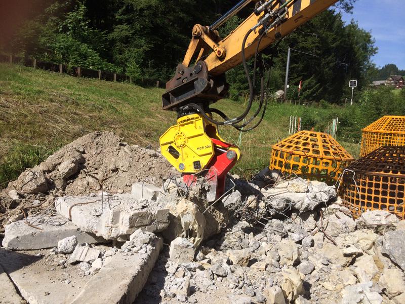 Concrete Crushers Demolition Shears Hcr Konverma
